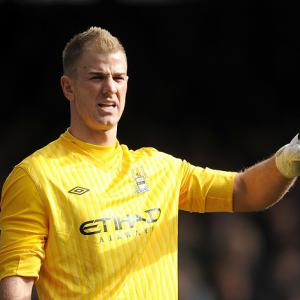 Manchester City goalkeeper Joe Hart acknowledges United dominance