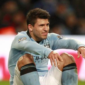 Aguero could miss two games
