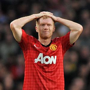 Scholes missing for Madrid trip