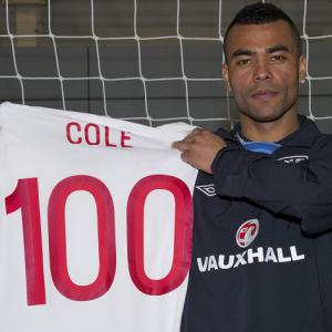 Ashley Cole overwhelmed by 100 cap achievement