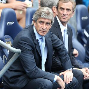 Pellegrini concerned by City show