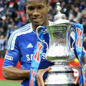 Drogba proud of Wembley scoring record