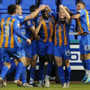 Shrewsbury 2-0 Cheltenham: Match Report