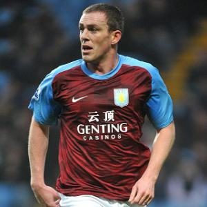 Aston Villa defender Richard Dunne out until the New Year