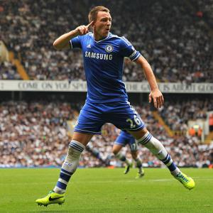 Terry denies Spurs