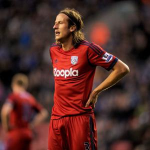 West Brom reject QPR bid for defender Jonas Olsson