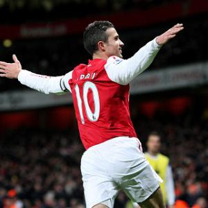 Van Persie proud to equal record