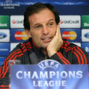 Berlusconi says Allegri will remain coach of Milan
