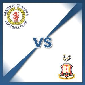 Bradford City away at Crewe Alexandra - Follow LIVE text commentary