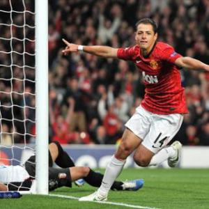 Manchester United striker Hernandez humble on trophy hunt