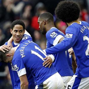 Toffees maintain Euro hunt