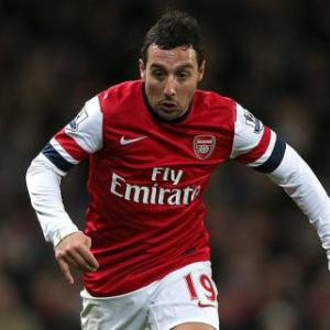 Summer signing Santi Cazorla enjoying life at Arsenal