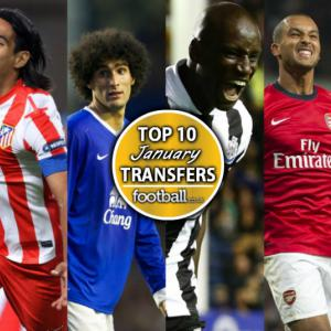 Top 10 Sensational Transfers This January