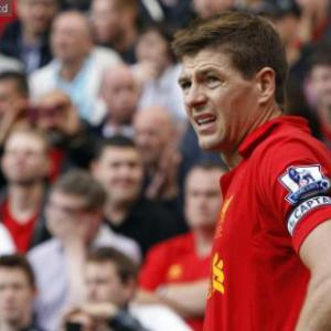 Top 10 Goals Of September 2012: 10 - Steven Gerrard