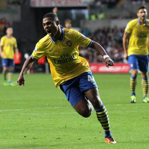 Wenger hails Gnabry talent