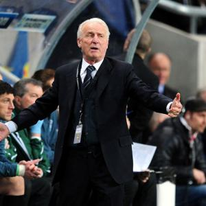 Giovanni Trapattoni pleased with Irish display