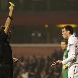 AVB 'happy' to see Gareth Bale booked against Inter