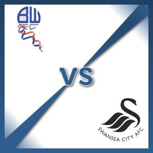 Swansea City away at Bolton Wanderers - Follow LIVE text commentary