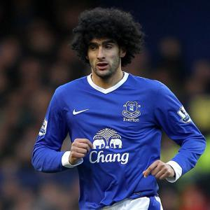 Fellaini apologises to Shawcross after headbutt incident