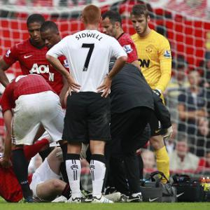No quick return for Rooney