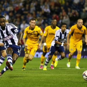 Berahino impresses for Baggies