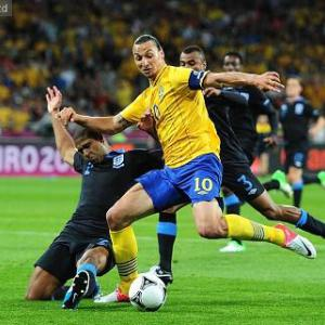 Top 10 Strikers in the world 2012: 9 - Zlatan Ibrahimovic 