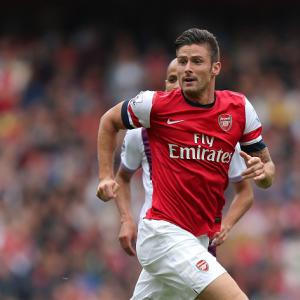 Giroud happy to face competition