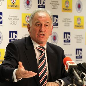 SFA talks please Rangers chief