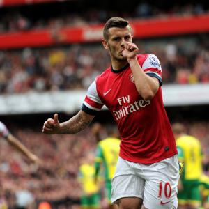 Gunners fire four past Canaries