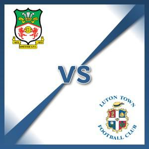 Wrexham V Luton Town - Follow LIVE text commentary
