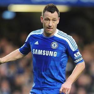 Terry plays down injury worries
