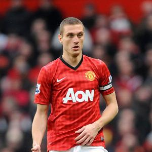 Vidic gives City duo silent treatment