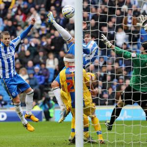 Brighton claim derby spoils over Palace