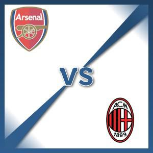 Arsenal V AC Milan - Follow LIVE text commentary