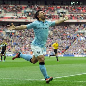 Aguero wants a strong finish from Man City