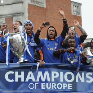 Chelsea stars saluted at victory parade