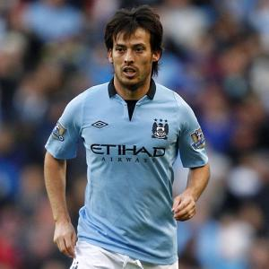 Mancini waits on David Silva fitness ahead of Manchester derby