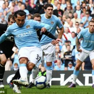 Manchester City's Premier League fixtures 2010-11