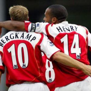 Ultimate Premier League Strike Partnerships: 3 - Thierry Henry - Dennis Bergkamp