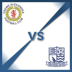 Crewe Alexandra V Southend United - Follow LIVE text commentary