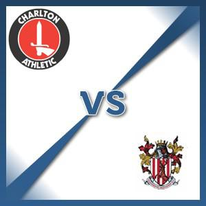 Stevenage Borough away at Charlton Athletic - Follow LIVE text commentary