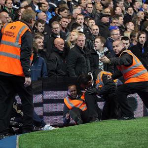 Chelsea investigate after steward hurt