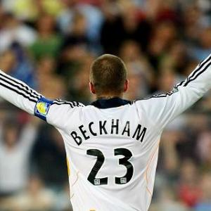 Beckham named to MLS all-star team