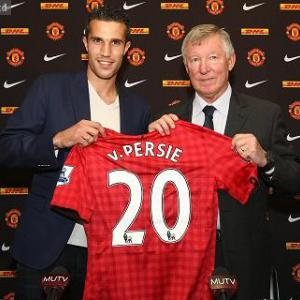 Van Persie - United was an easy choice