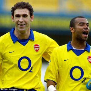 MARTIN KEOWN: Ashley Cole was an Arsenal fan, living the dream
