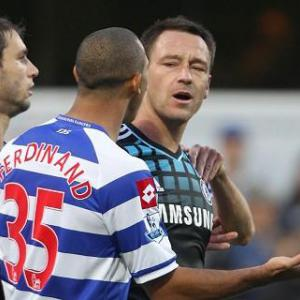 Terry in race abuse probe