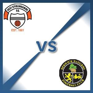 Berwick Rangers away at East Stirlingshire - Follow LIVE text commentary