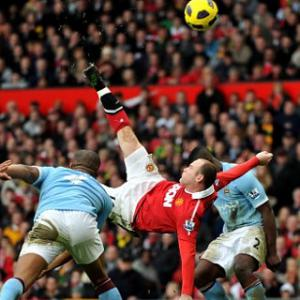 Top 10 Premier League Volleys: 2 - Wayne Rooney