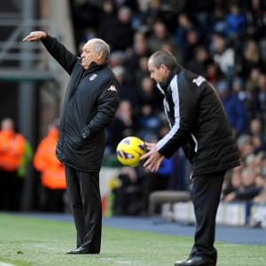 Fulham boss Martin Jol happy with new year win
