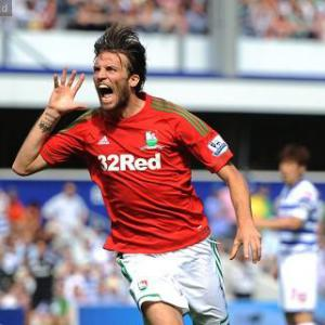 Michu enjoys dream debut
